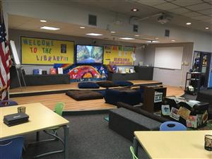Library 5 learning area