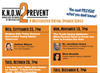 Know2Prevent Free Speaker Series