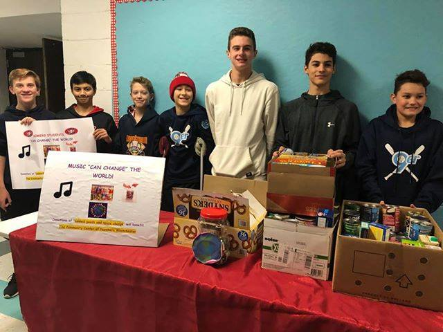 Student Efforts Help Support Community Center of Northern Westchester