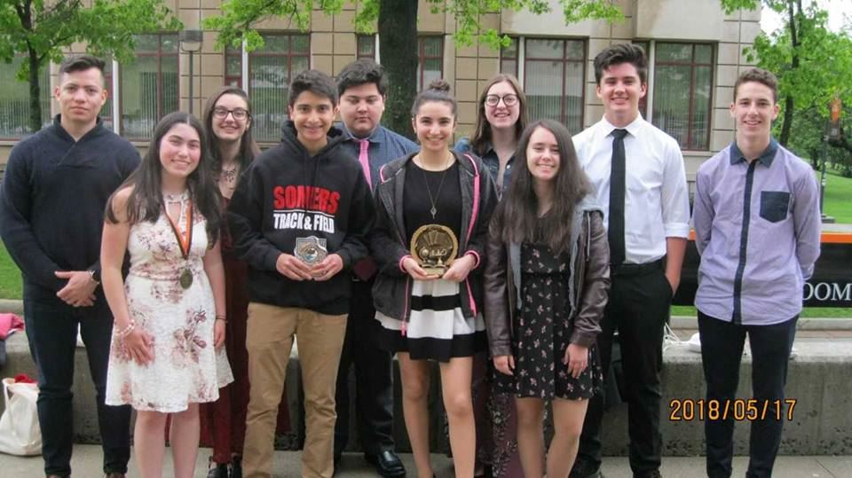 SHS Students Participate in William Paterson University's 35th Annual World Language Poetry Recitation Contest