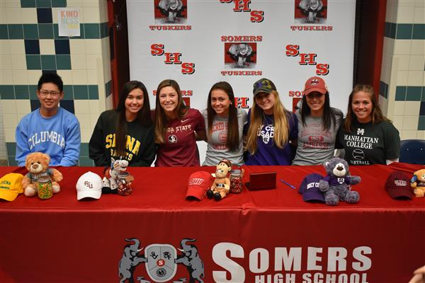 SHS Students Sign Letters of Intent