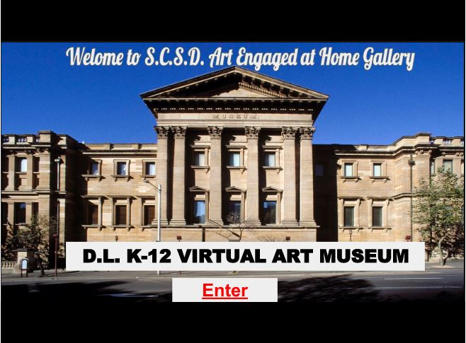 Virtual Art Gallery Home Page