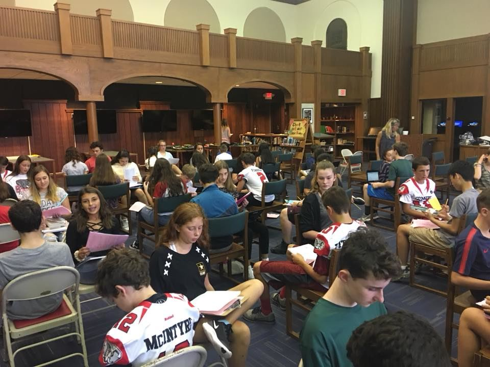 Somers Middle School Students Celebrate Summer Reading Selections