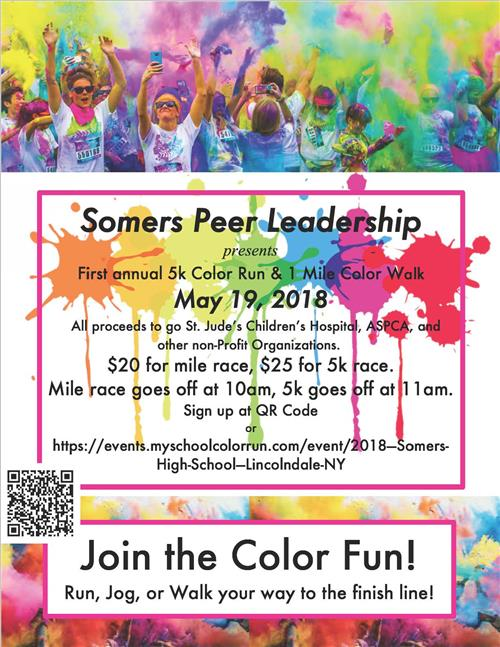 Color Run May 19 Flyer