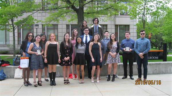 SHS Participants in World Language Poetry Contest