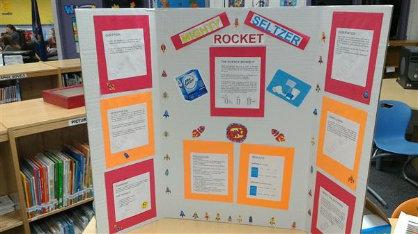 science fair poster board example